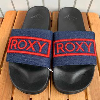 ロキシー(Roxy)の新品 ROXY ロキシー シャワーサンダル 23㎝ ビーサン 送料無料(サンダル)