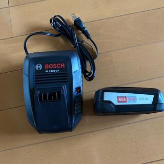 ボッシュ(BOSCH)の未使用品 BOSCH 純正品 18v 2.5Ah バッテリー 充電器 セット(工具)