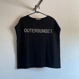 プラステ(PLST)のアウターサンセット Tシャツ(Tシャツ(半袖/袖なし))