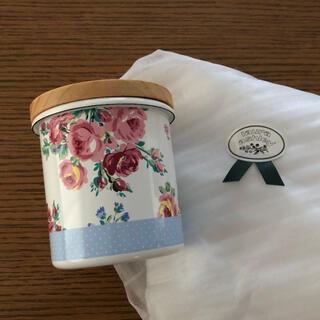 ローラアシュレイ(LAURA ASHLEY)の新品未使用 ローラアシュレイ キャニスター 小物入れ(収納/キッチン雑貨)