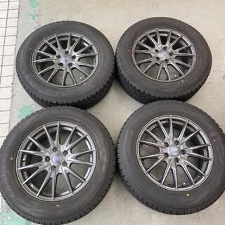 グッドイヤー(Goodyear)のトヨタハリアーハイブリッド225/65R17ICENAVI SUV AVU65W(タイヤ・ホイールセット)