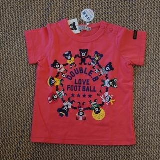 ダブルビー(DOUBLE.B)の週末限定値下げ▽新品・未使用/ダブルB 半袖Tシャツ 80 ミキハウス(Tシャツ)
