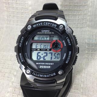 カシオ(CASIO)のカシオ電波腕時計 CASIO カシオ腕時計 メンズ&レディース(腕時計(デジタル))