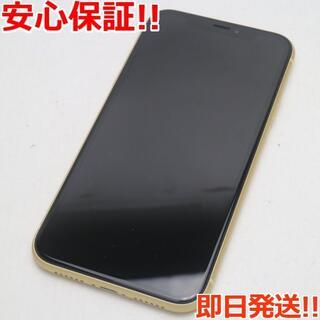アイフォーン(iPhone)の美品 SIMフリー iPhoneXR 256GB イエロー 白ロム (スマートフォン本体)
