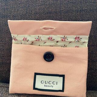 グッチ(Gucci)のGUCCI  ノベルティ コーム ポーチのセット ピンク色(ポーチ)