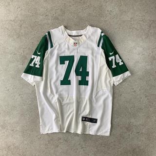 ナイキ(NIKE)のNFL Nike JETS ジェッツ フットボールシャツ刺繍 MANGOLD選手(アメリカンフットボール)