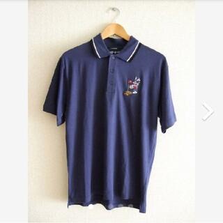 ディズニー(Disney)のワーナー ブラザーズ スタジオ ストア バッグスバニー ゴルフ ポロシャツ(ポロシャツ)