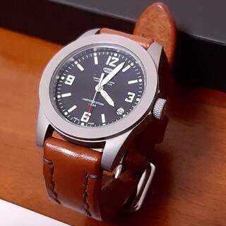 セイコー(SEIKO)のSPQR 腕時計 男女兼用 SOMES社 ソメス サドルレザーバンド(腕時計(アナログ))