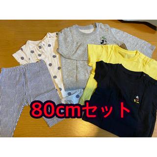 ユニクロ(UNIQLO)の80cm 子供服セット(その他)
