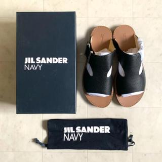 Jil Sander - 【6/13まで】新品未使用 定価4.5万 ジルサンダーネイビー スライドサンダル