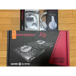 パイオニア(Pioneer)のPioneer DDJ-SB ヘッドホンセット(DJコントローラー)