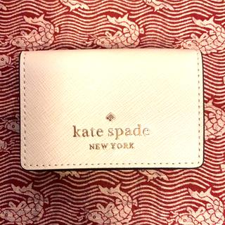 kate spade new york - #新品 #kate spade #三つ折り#財布 #ベージュ&黒