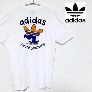 アディダス(adidas)の【美品】アディダス Tシャツ sk8 skater スケボー スケーター(Tシャツ/カットソー(半袖/袖なし))