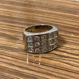 ブルガリ(BVLGARI)のプラチナ pt900 印台 リング(リング(指輪))