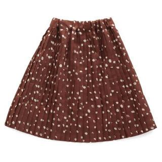 ブリーズ(BREEZE)の美品 BREEZE ブリーズ プリーツスカート レオパード(スカート)