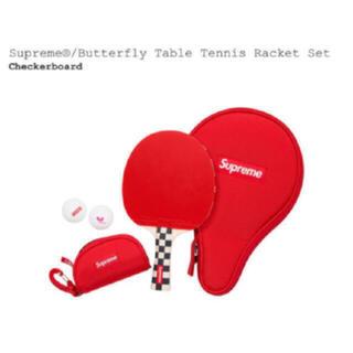 シュプリーム(Supreme)のSupreme Butterfly Table Tennis Racket (卓球)