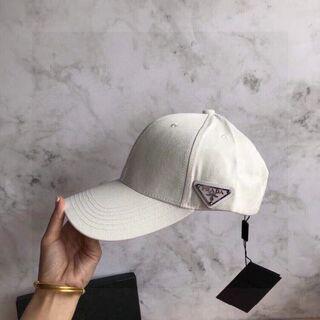 PRADA - #001 夏の美品 男女兼用 PRADA /プラダ キャップ 帽子