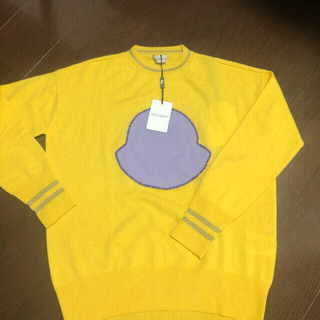 モンクレール(MONCLER)のMONCLER ロゴ ニット セーター 薄手 モンクレール(ニット/セーター)