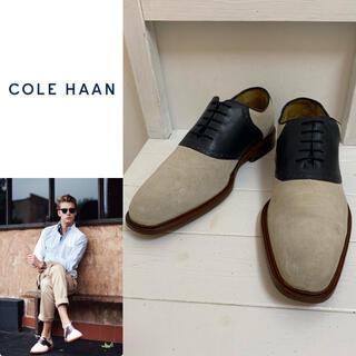 コールハーン(Cole Haan)のCOLE HAAN コールハーン NIKE AIR搭載 コンビサドルシューズ(ドレス/ビジネス)