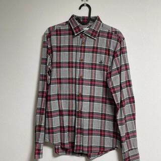 ヴィヴィアンウエストウッド(Vivienne Westwood)のvivienne westwood man チェックシャツ(シャツ)
