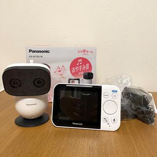 パナソニック(Panasonic)の【値下げしました】Panasonic ベビーモニター KX-HC705-W(その他)