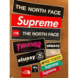 シュプリーム(Supreme)のSUPREME&ノースフェイス&STUSSY&THRASHER&FR2ステッカー(その他)