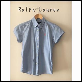 ラルフローレン(Ralph Lauren)のラルフローレン ボタンダウンシャツ 半袖(ブラウス)