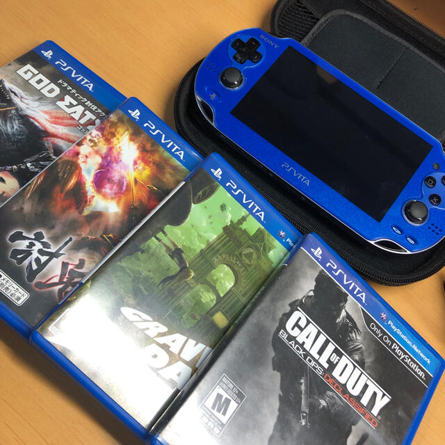 PlayStation Vita(プレイステーションヴィータ)のPlayStation vita セット エンタメ/ホビーのゲームソフト/ゲーム機本体(携帯用ゲーム機本体)の商品写真