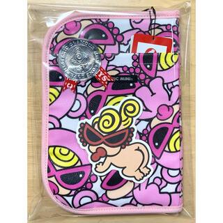 ヒステリックミニ(HYSTERIC MINI)のヒスミニ☆正規品☆新品☆母子手帳ケース☆L☆ピンク☆貴重品☆カード☆テディ☆⑦(母子手帳ケース)