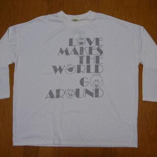 セサミストリート(SESAME STREET)の5L セサミストリート 長袖Tシャツ 生成(Tシャツ(長袖/七分))