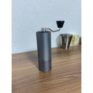 タイムモア TIMEMORE 栗子C2 手挽きコーヒーミル 手動式 ブラック(コーヒーメーカー)