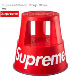 シュプリーム(Supreme)のSupreme Wedo Step Stool 赤 Red スツール(その他)