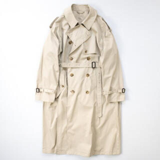 stein DOUBLE SHADE TRENCH COAT Beige