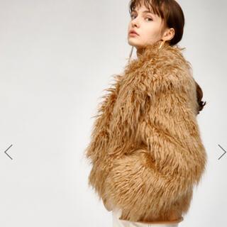 マウジー(moussy)のマウジー ファーコート(毛皮/ファーコート)