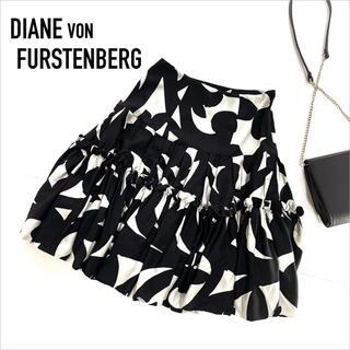 DIANE von FURSTENBERG - DIANE VON FURSTENBERG 柄 スカート*エミリオプッチ ミリー