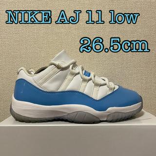 ナイキ(NIKE)の【美中古】NIKE Jordan11 Low University Blue(スニーカー)
