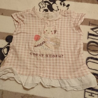 クーラクール(coeur a coeur)のクーラクール Tシャツ 80(その他)