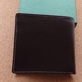 WHITEHOUSE COX - 【新品未使用】Whitehouse Cox/ホワイトハウスコックス 二つ折り財布