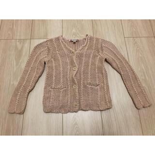 ボンポワン(Bonpoint)のボンポワン カーディガン ニット セーター 4歳 女の子 キッズ 3 110(カーディガン)
