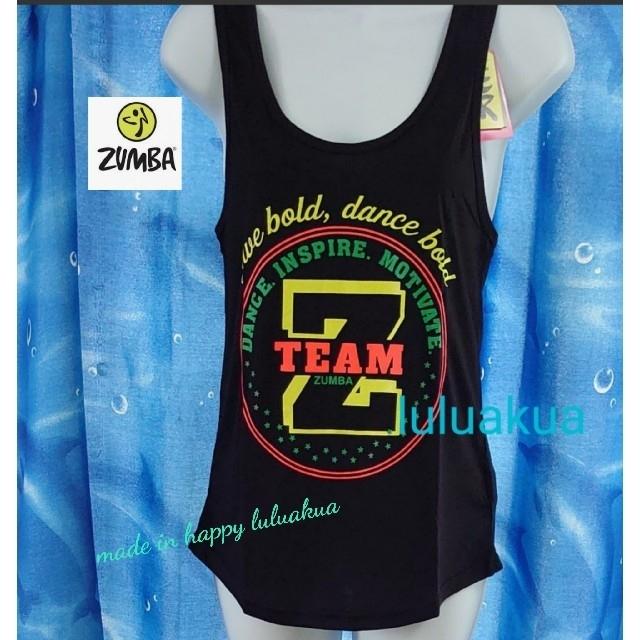 Zumba(ズンバ)の新品タグつき ZUMBA  タンクトップ S スポーツ/アウトドアのスポーツ/アウトドア その他(ダンス/バレエ)の商品写真