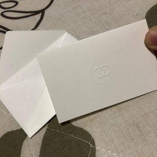 シャネル(CHANEL)のシャネルメッセージカード(カード/レター/ラッピング)