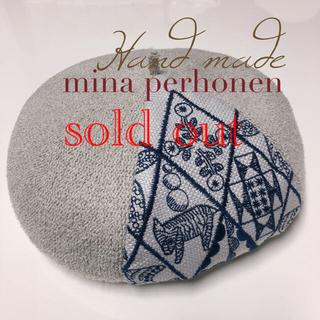 ミナペルホネン(mina perhonen)のミナペルホネンベレー帽ミナペルホネンシンフォニー(帽子)