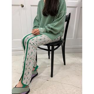 マメ(mame)のmame kurogouchi Pedicel Knit Pants(カジュアルパンツ)