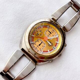 アルバ(ALBA)のALBA/AKA メンズクォーツ腕時計 クロノグラフ 稼動品 難あり(腕時計(アナログ))