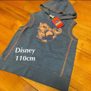 Disney - 新品タグ付き ディズニー 110cm ノースリーブパーカー