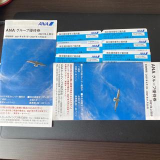 エーエヌエー(ゼンニッポンクウユ)(ANA(全日本空輸))のANA 株主優待 6枚と冊子2冊(その他)