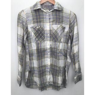 デニムアンドサプライラルフローレン(Denim & Supply Ralph Lauren)のネルシャツ デニム &サプライ リネンシャツ(シャツ/ブラウス(長袖/七分))