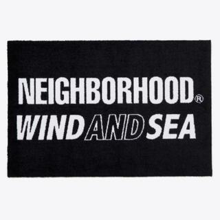 ネイバーフッド(NEIGHBORHOOD)のwind and sea NHWDS-N-MAT  BLACK (ラグ)