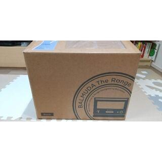 バルミューダ(BALMUDA)の新品 未使用 未開封 バルミューダ オーブンレンジ K04A 黒(電子レンジ)