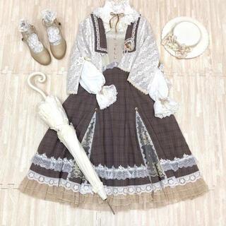 イノセントワールド(Innocent World)の海外Lolitaブランドのワンピース お嬢様 ワンピース+ケープ(ひざ丈ワンピース)
